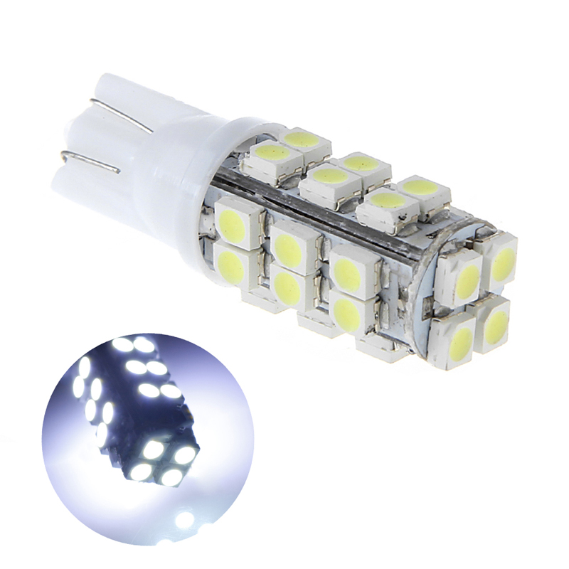 100 x Car LED T10 W5W 28SMD 3528 1210 Width Light Instrument Dash Lamp DC12V
