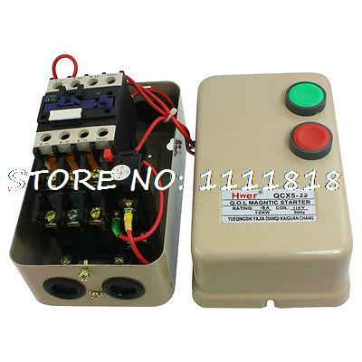 110V Coil 7.5KW 10HP Three Phase Motor Magnetic Starter Contactor110V Coil 7.5KW 10HP Three Phase Motor Magnetic Starter Contactor