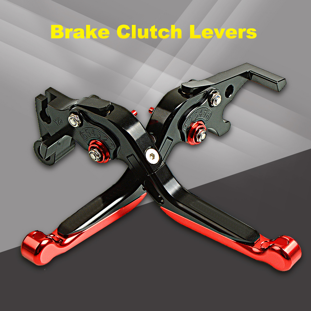 With CB600 CNC Adjustable Folding Extendable Motorcycle Brake Clutch Levers For Honda CBF <font><b>600</b></font> SA CBF <font><b>600</b></font> 2006 <font><b>2007</b></font> <font><b>Hornet</b></font> image