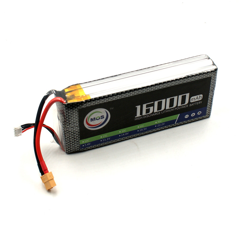 MOS 3S RC Lipo Battery 11.1v 25C 16000mAh For RC Aircraft Car Drones Boat Quadcopter Helicopter Airplane 3S Li-polymer Batteria 1s 2s 3s 4s 5s 6s 7s 8s lipo battery balance connector for rc model battery esc
