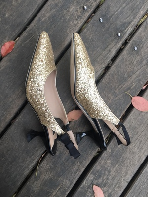 Spring Summer New Silver Sequins Wedding Shoes Women Bowknot Mixed ... 7a57747fea51