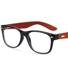 Fashion Wear Wooden Optical Eyeglasses