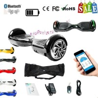 6.5 Inch Strong Power Skateboard Hoverboard Two Wheels Self Balance E Scooter Hover Board With Carry Bag EU Plug
