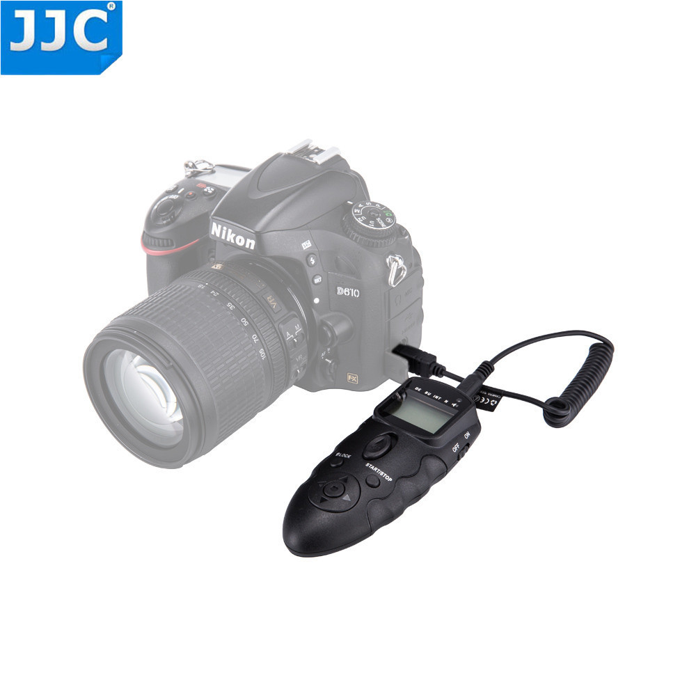 Jjc Wired Dslr Camera Timer Ir Infrared Remote For Nikon