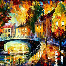5D DIY Diamond Mosaic  painting cross stitch Painting Crafts Embroidery Decoration Gifts Landscape