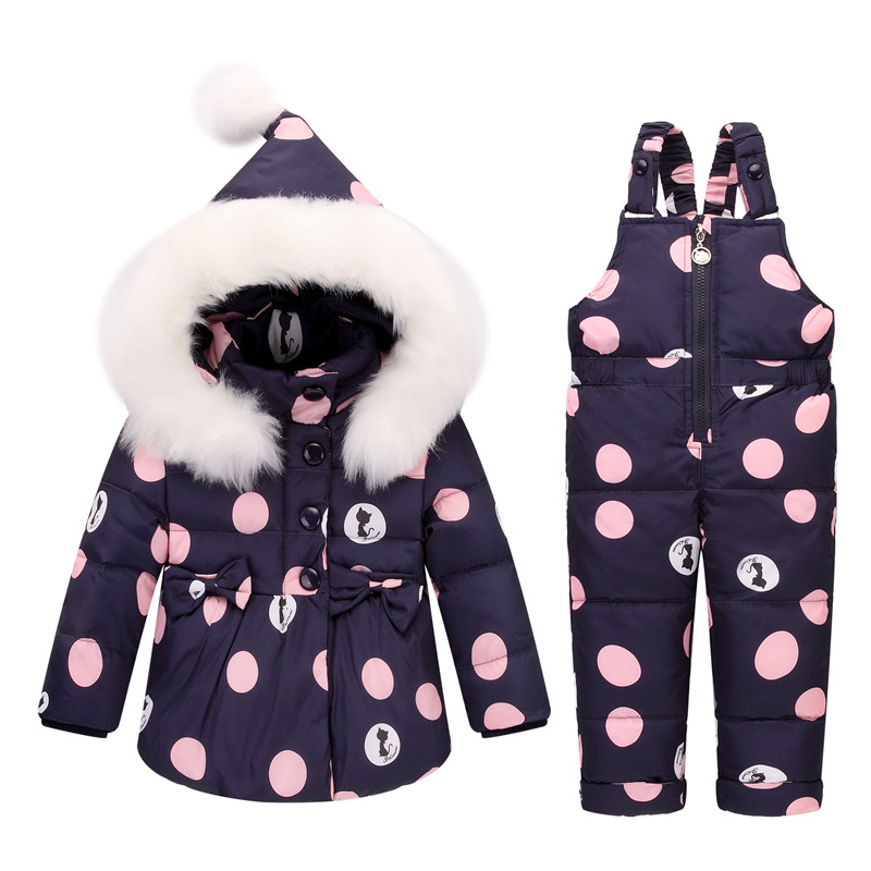 BibiCola  Baby Girls Down Fur Hooded Coats+Overalls Pant Sets Winter Kids Clothing Sets skisuit Warm Duck Down Jackets Snowsuit BibiCola  Baby Girls Down Fur Hooded Coats+Overalls Pant Sets Winter Kids Clothing Sets skisuit Warm Duck Down Jackets Snowsuit