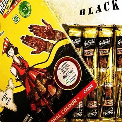 12 Pieces Black