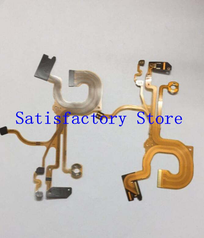 NEW Lens Back Main Flex Cable For SONY Cyber-Shot DSC-HX50 HX50V HX60 HX60V Digital Camera Repair Part with Socket image