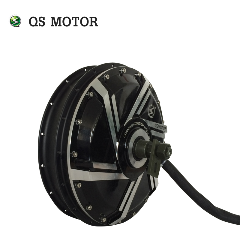 QSMotor electric bike hub motor 8000W 273 50H V2 E-Motorcycle Spoke Hub Motor