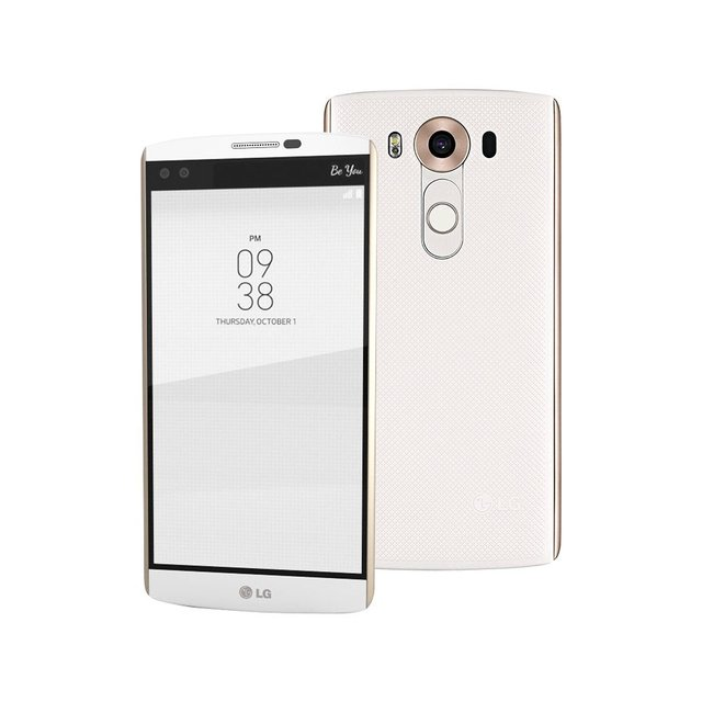 US $106 6 59% OFF|original LG V10 F600 H900 5 7'' 4K 4GB RAM 64GB ROM Smart  Phone Hexa Core Android 5 1 LTE 4G Cellphone mobile phone refurbished-in