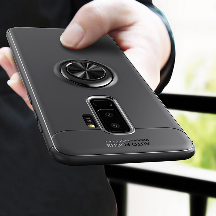 For <font><b>Samsung</b></font> S8 S9 Plus J2 Prime G530 A6 Plus J4 J6 J8 2018 A9 Star Lite Note9 <font><b>8</b></font> Magnetic Car Holder <font><b>Case</b></font> <font><b>360</b></font> Finger Ring Cover image