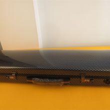Черный сильный углеродного волокна Скрипки случае 4/4 с музыкой сумка кодовый замок