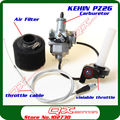 KEIHIN 26mm PZ26 Carburetor Throttle Assembly + Carbit Set for 125cc/140cc dirt /Pit bike 125/150cc cg motorcycles free shipping