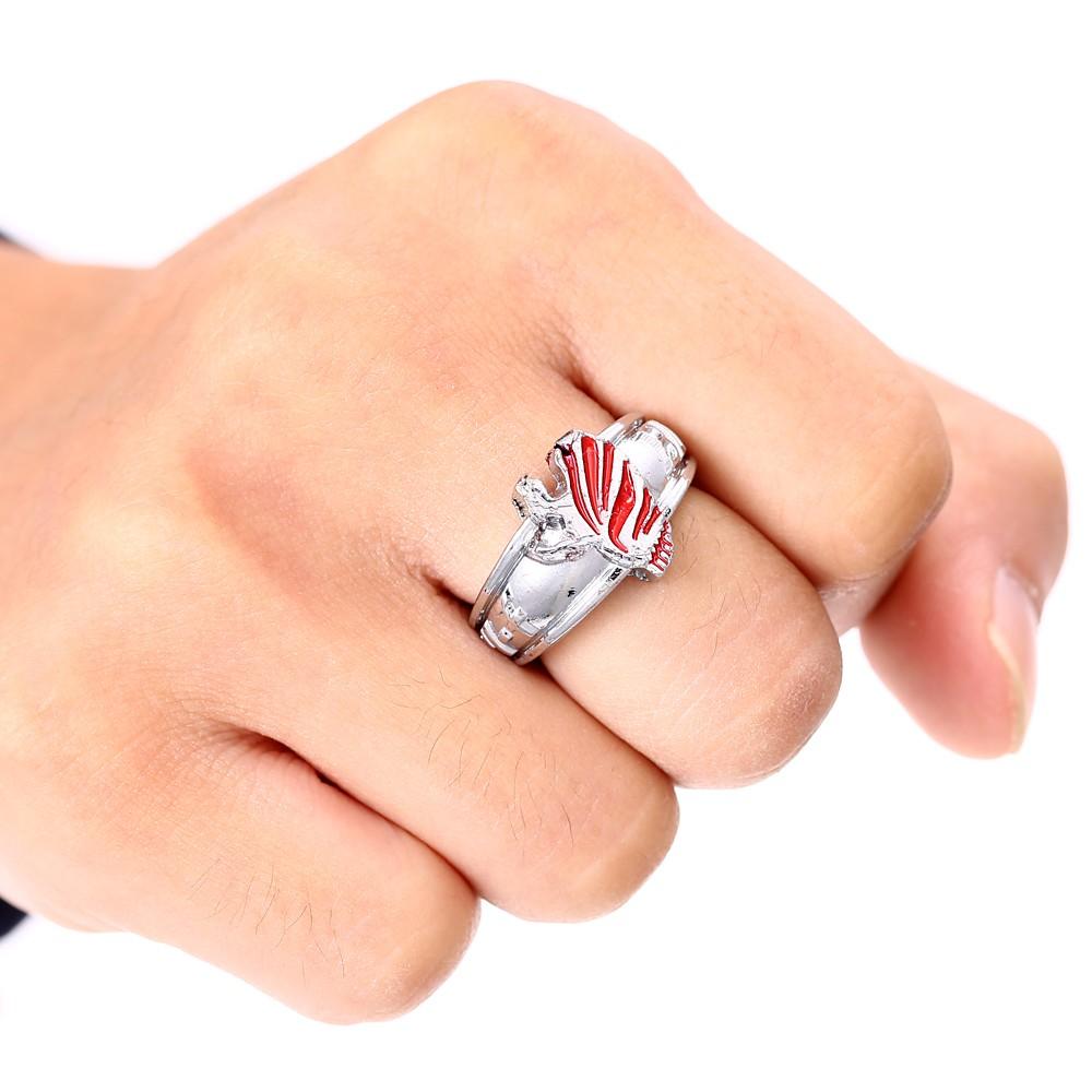 Bleach Logo Rotating Ring