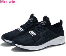 Summer Men Running Shoes Athletic Shoes Breathable Walking Sneakers Air Mesh Sports Cheap Camping Jogging Shoes Zapatos
