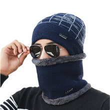 купить Unisex Winter Knitted Men Women Hats Skullies And Beanies Wire Caps Thermal Ski Hat Skating Cap Toucas De Inverno Gorros дешево