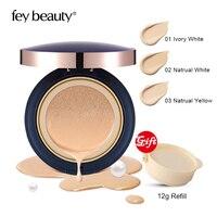 FEY BEAUTY Air Cushion BB CC Cream Cosmetic Acne Concealer Base BB Powder Foundation Pore Minimizing Bare Mineral Long Lasting