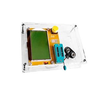 9V LCD Digital Transistor Tester Meter Backlight Diode Triode Capacitance ESR Meter for MOS/PNP/NPN LCR Electronic Component Kit