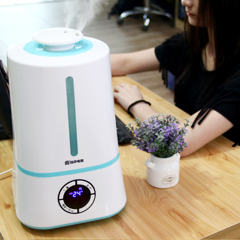 PH-38 4L Air Humidifier Household Silent Essential oil diffuser intelligent Constant humidity High capacity Aromatherapy machine f370 3l humidifier household high capacity aromatherapy machine white