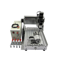YOOCNC ball screw 500W cnc milling machine 3020 4axis wood cnc router with limit switch
