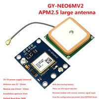GY NEO6MV2 New NEO 6M GPS Module NEO6MV2 With Flight Control EEPROM MWC APM2 5 Large