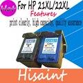 Совместимый Картридж Для HP 21XL C9351A И HP 22XL C9352A для HP 1402 1406 1408 1410 D1360 D1460 Принтера Бесплатная Доставка