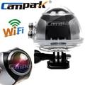 Campark 4 К Ultra HD Wifi Мини Действий Камеры 2448*2448 Камера Обзора 360 Градусов Панорамный Sport Driving VR камера