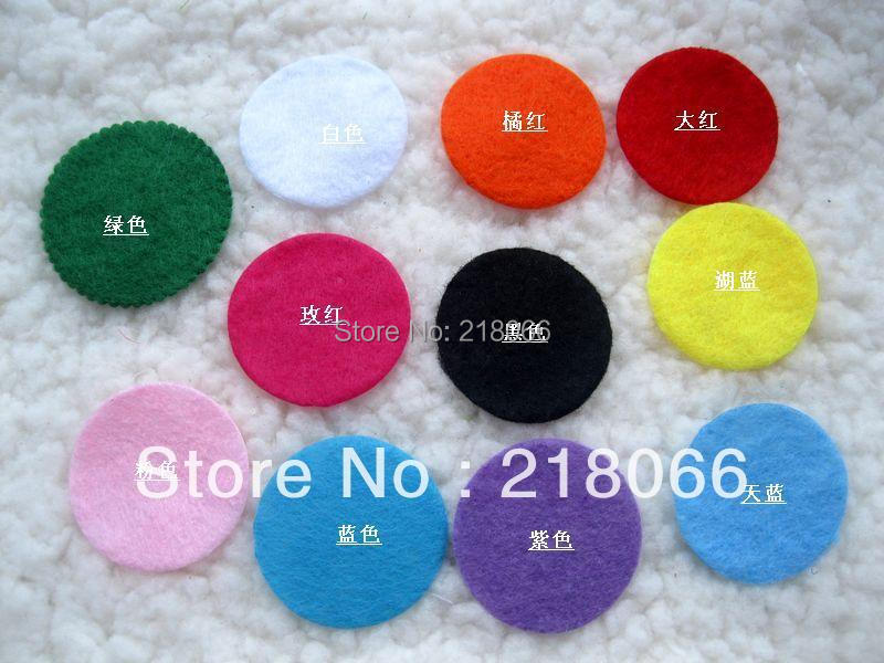 30mm multicolour filztuchfabrik wool wafer diy brooch hair accessory gasket material