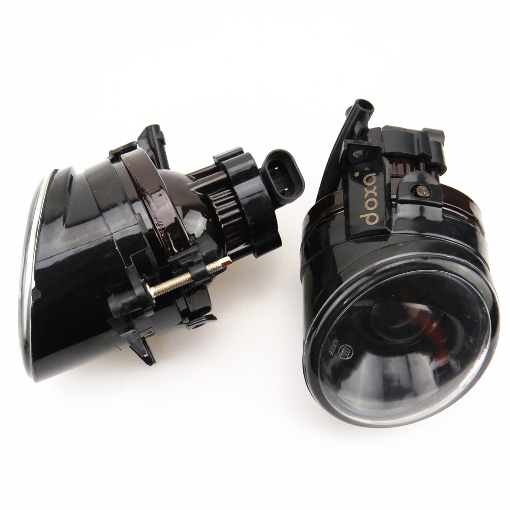 DOXA 1Pair Front Left Right Halogen Convex Lens Fog Light Lamp For VW Jetta Golf MK5 Rabbit Sciocco Seat Mii 1K0941699 1K0941700