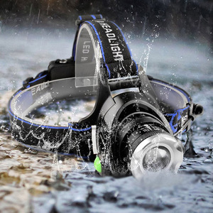 Image 5 - DropshippingPowerful T6 L2 headlights headlamp Zoom waterproof 18650 rechargeable battery Led Head Lamp Camping Hiking Light
