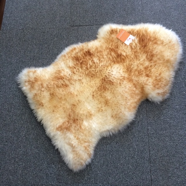 100 sheepskin rug whitebrown color car seat covers