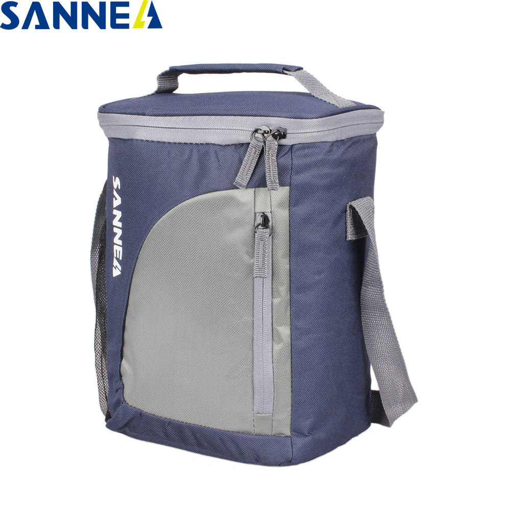SANNE 9L Portable Insulated Cooler Bags Thermal Cooler Insulated Waterproof Ice Bag Storage Picnic Cooler Bag Ice Package