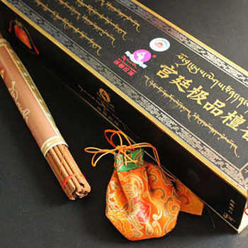 108 Sticks/Box With Sachet Bless Natural Handmade Tibetan Incense Need Sandalwood Aromatherapy Sticks - DISCOUNT ITEM  10% OFF Home & Garden