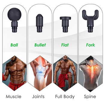 Percussive Muscle Massager Gun 4