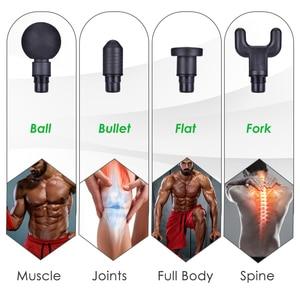 Image 4 - Pistola de masaje muscular de tejido, gestión del dolor muscular después del ejercicio de entrenamiento, relajación corporal, adelgazamiento, moldea el dolor