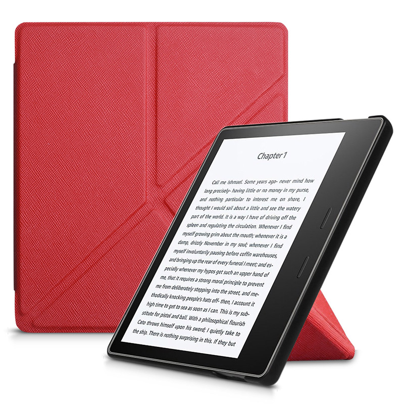 Stand Case For Amazon Kindle Oasis 7.0 2017 For Amazon Kindle Oasis 2017 Smart Flip PU Leather case+screen protector