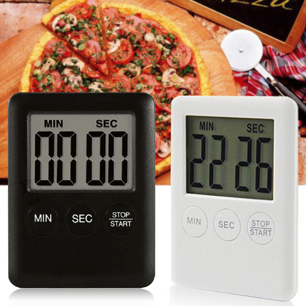 Mini Count-down Digital Kitchen Timer Reminder Alarm LCD Cooking Clock Kitchen Gadgets Cooking Tools
