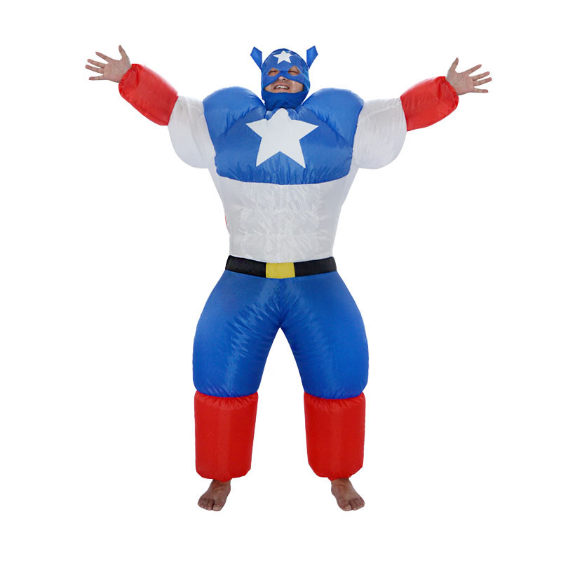 Stag night Halloween costume cosplay Adult costumes Fancy Dress Inflatable sumo Captain America sexy anime suit disfraces adult