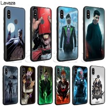 Lavaza Gotham Silicone Case for Xiaomi Redmi Note 4 4X 4A 5 5A 6 6a 7 Pro Go Prime Plus(China)