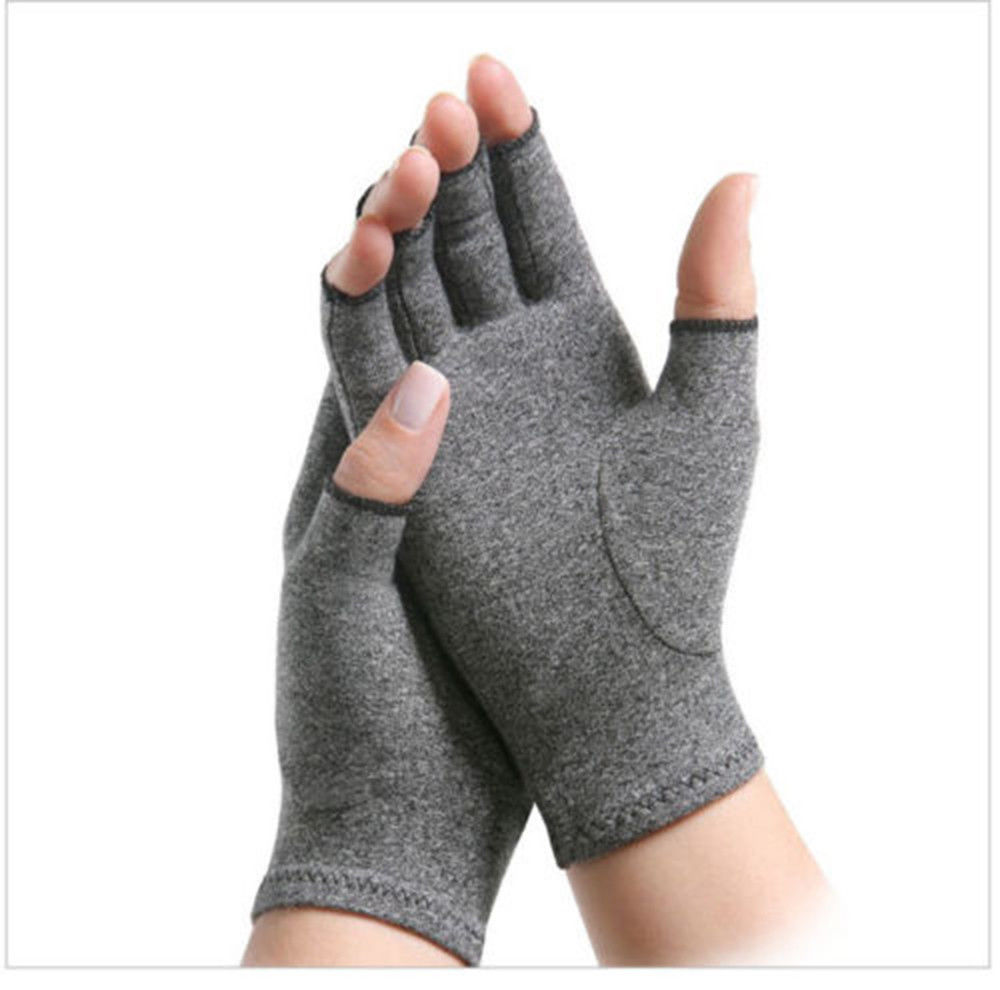 Thefound New Copper Compression Gloves Fingers Arthritis Joint Pain Carpal Tunnel Brace