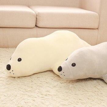 Плюшевые мягкие игрушки кавайные тюлени 1