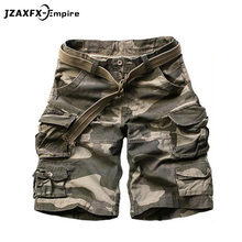 New Camouflage Camo Cargo Shorts Men Mens Summer Casual Male Loose Work Man Military Short Pants