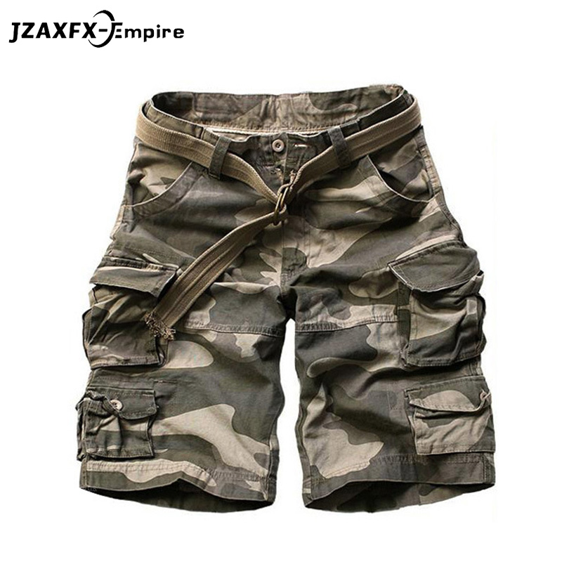 New Camouflage Camo Cargo Shorts Men Mens Summer Casual Shorts Male Loose Work Shorts Man Military Short Pants