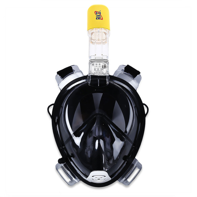 Diving Mask Underwater Scuba Anti Fog Full Face Diving Mask Snorkeling Set with Anti-skid Ring Snorkel