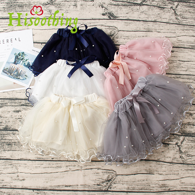 2018 Infant Solid Color Handmade Fluffy Tulle Pettiskirt with Ribbon Bow Kids Birthday Party Tutus Halflength princess with bow cute girls purple long tutus dress kids handmade fluffy tulle princess dress with flower satin bow children party tutus 1pcs