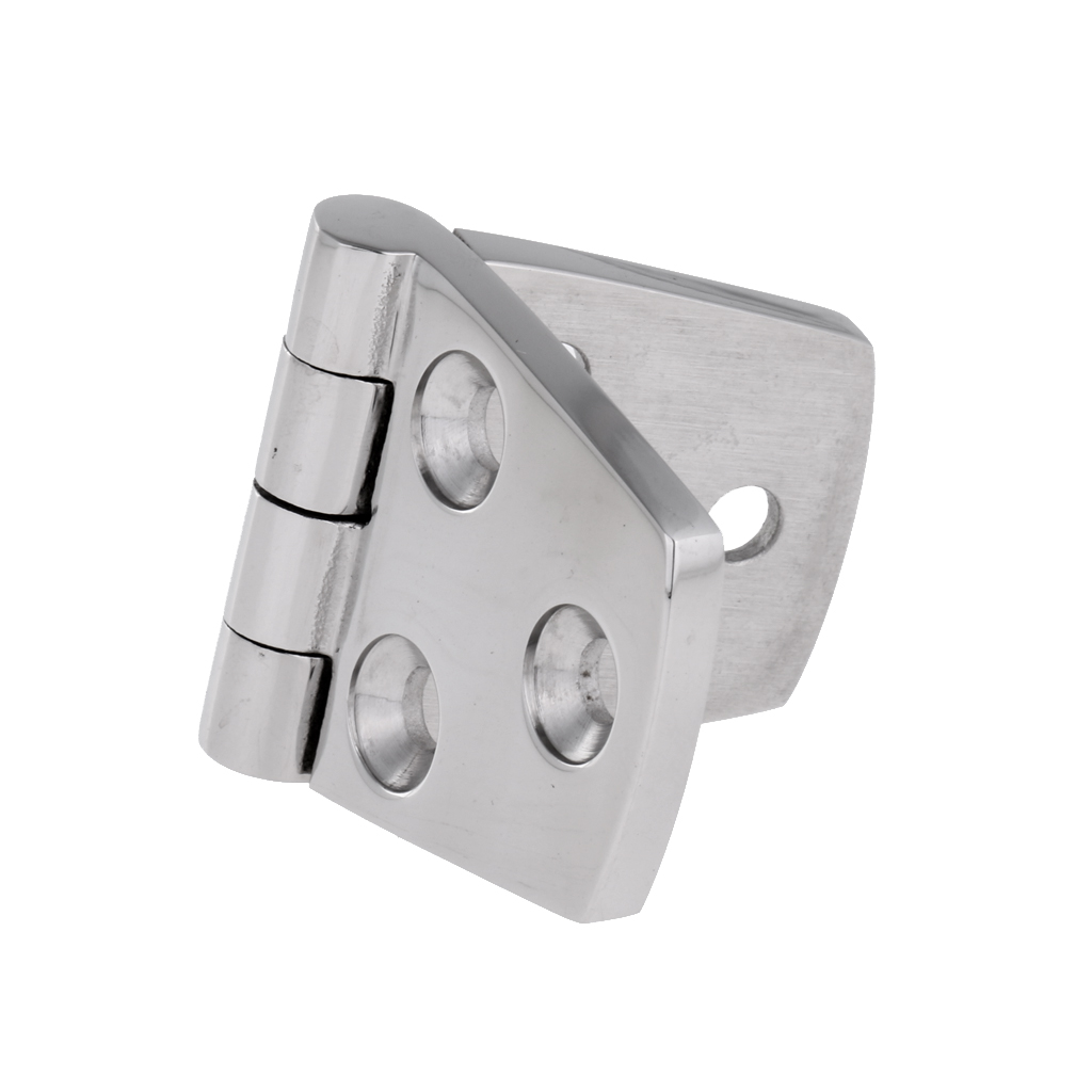 1 Pcs Marine Flush Door Hinges 76mmx38mm Casting Strap Hinge  316 Stainless Steel For Boat Yacht Etc Boat Accessories