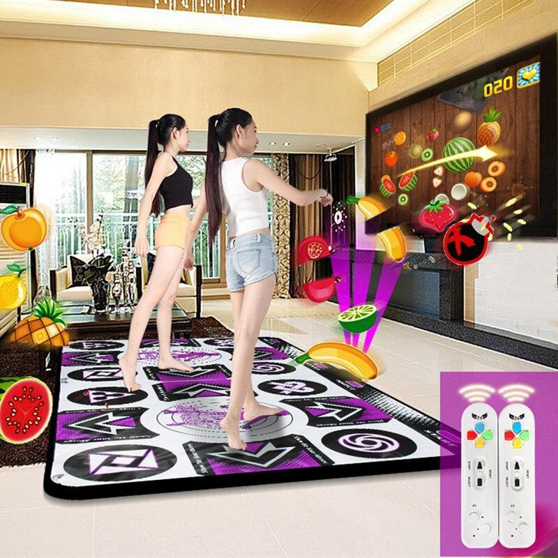 Cdragon 30mm haute définition ordinateur de télévision sans fil double usage sensation de corps tampons de jeu double machine de danse