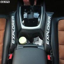 2 шт., новый наполнитель для сидений, мягкая прокладка, прокладка для логотипа Ford Explorer 2011 2012 2013 2014 2015 2016 2017 2018, Стайлинг автомобиля