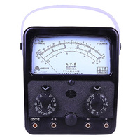 MF500 Analog Multimeter Volt Ampere Ohm Meter 2500v 20hm 500ma