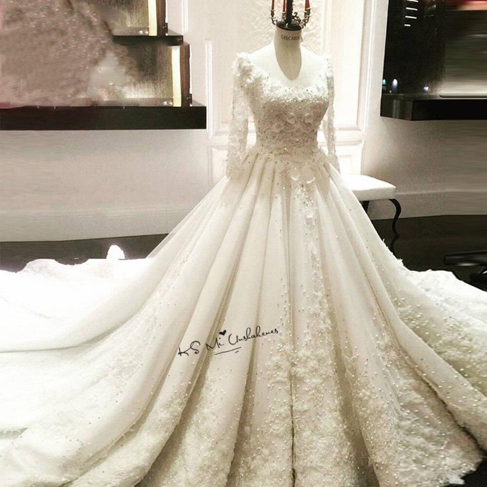 Atemberaubend Hochzeitskleid Lange Hülsenspitze Ideen - Hochzeit ...